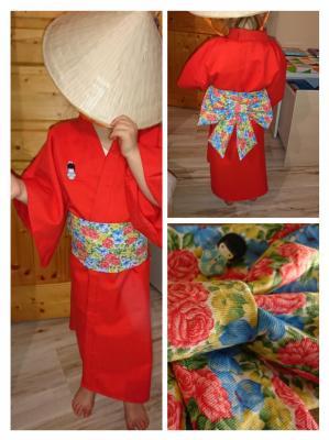 Kimono 4-5 ans